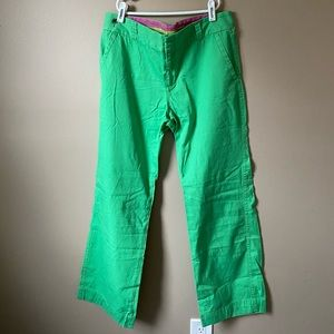 Lilly Pulitzer pants green size 8